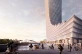 A proposta foi selecionada em uma competição e servirá de contraponto para o Elbphilharmonie, sala de concertos de Herzog & de Meuron