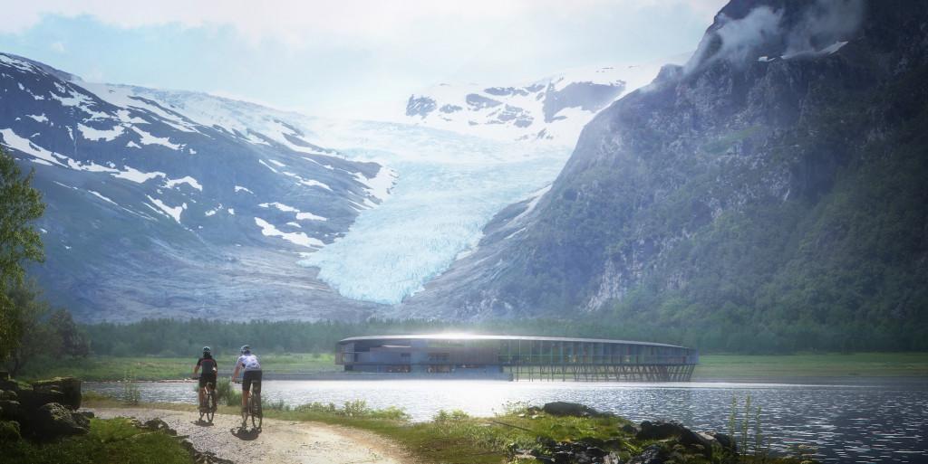 Em Svartisen, Noruega, o Svart será o primeiro de energia positiva com standard Powerhouse do mundo