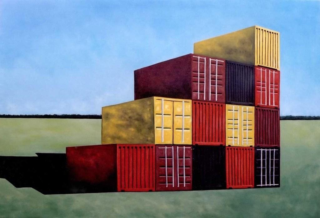 Obra de Eduardo Srur, da Blombô