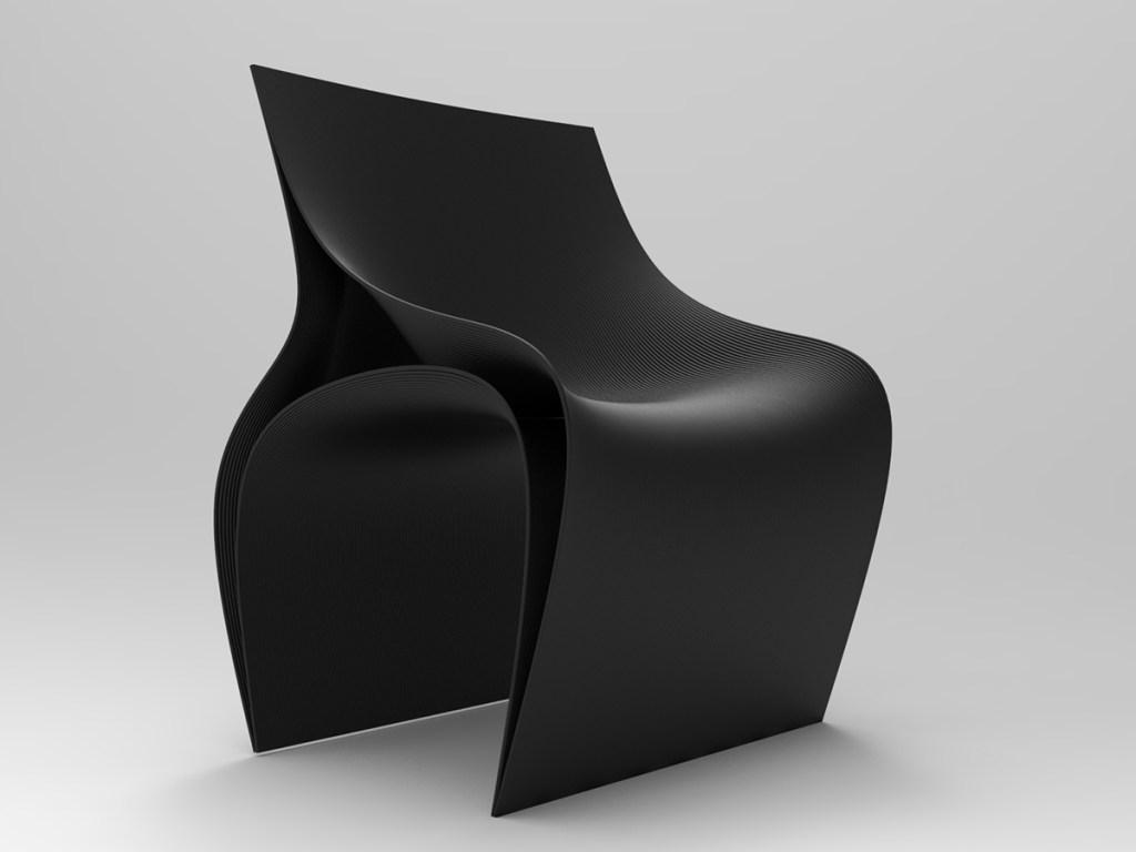 As peças, materializadas por impressoras 3D, serão apresentadas durante o Salão do Móvel de Milão