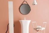 Tons pastel e décor minimal dão um novo status a esse espaço da casa
