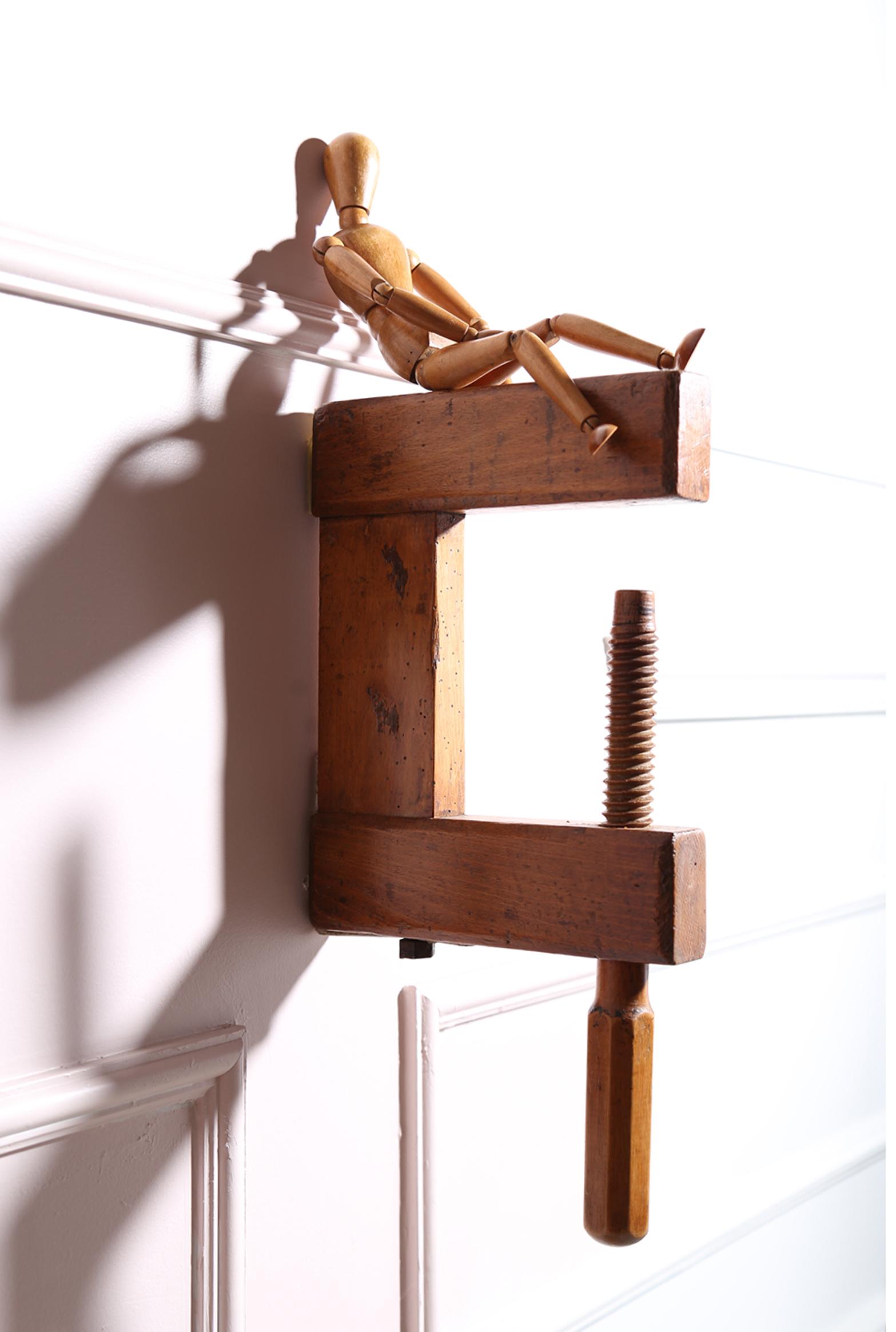 Gancho de madeira