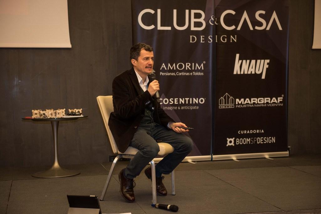 Palestra Club&Casa Design Milão