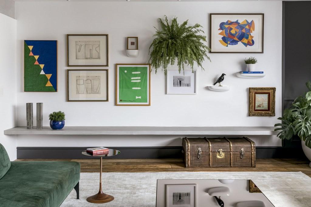 Inspire-se nestas ideias de composições de quadros para dar um ar de galeria de arte em casa