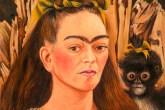 Pintura de Frida Kahlo com um macaco
