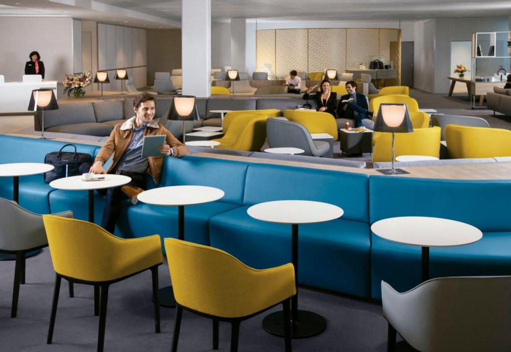 Novo lounge Air France
