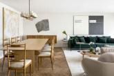 Uma seleção especial compõe o décor deste apartamento em SP
