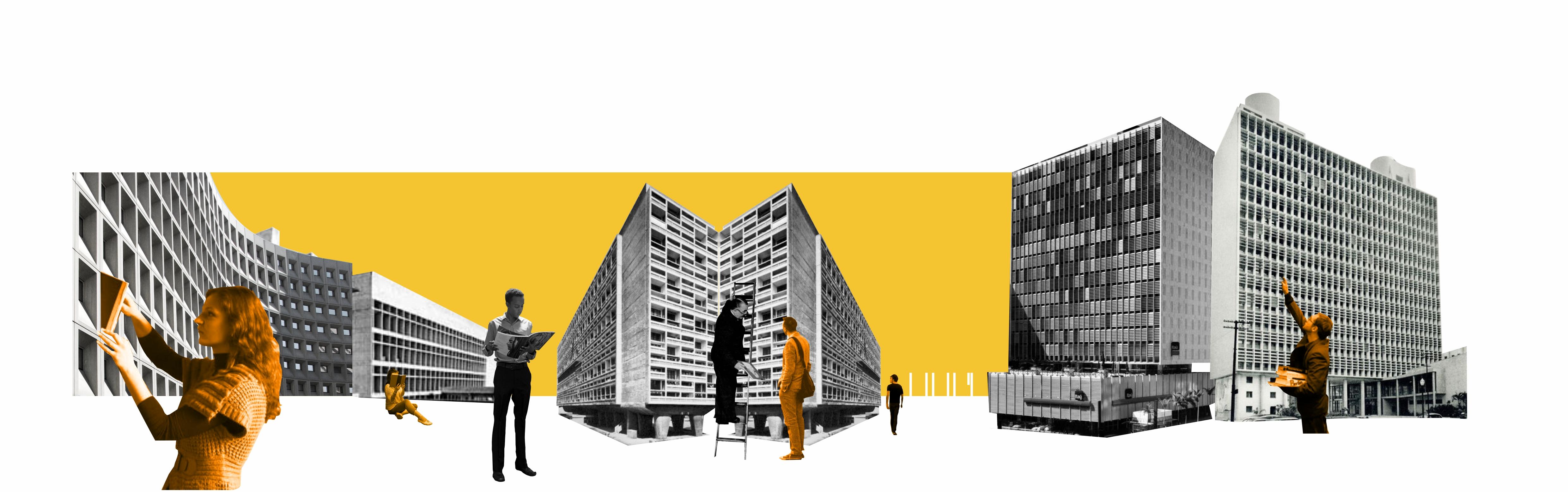 Arquiteto faz colagens que buscam novos olhares sobre lugares conhecidos