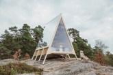 Designer finlandês cria cabana 100% sustentável e renovável